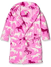 Hatley Fleece Robe-Fairy Tale Horses, Vestido de baño para Niñas