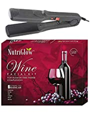 NUTRIGLOW Wine Facial Kit and Hair Straightner