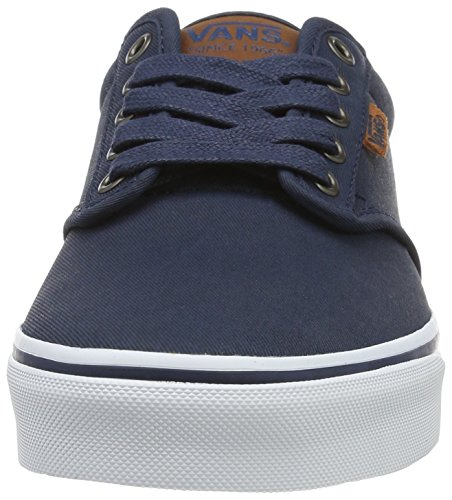 Vans Mn Atwood Dx, Sneakers Basses Homme Bleu (Waxed Dress Blues)