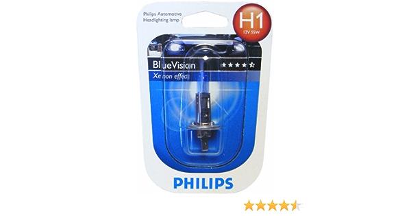 Philips 12258bvb1 Philips Blue Vision H1 Scheinwerferlampe Auto
