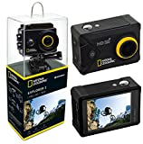 National Geographic Action Cam Explorer 2 FULL-HD 140°, WLAN, 2' LCD, HDMI,...