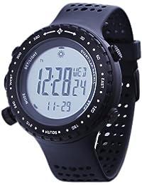 Columbia CT002-001 - Reloj digital de cuarzo unisex con correa de plástico, color negro