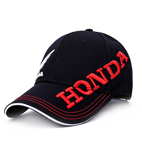 Honda Moto GP MOTORRAD Baseball Cap Outdoor Sports Polo Hüte 3D Kappen HONDA (Color1)