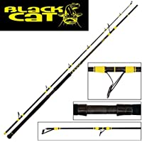 Black Cat Uni Passion Pro DX Spin–Caña de Pescar Siluro, Standart, One Size