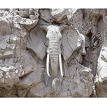 Decomonkey | Fototapete Steinwand Steine 350x256 Cm XXL | Design Tapete |  Fototapeten | Vlies Tapeten