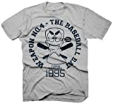 Cheapest Worms - Baseball Bat Vintage T-Shirt, Sport Grey, Small on Clothing