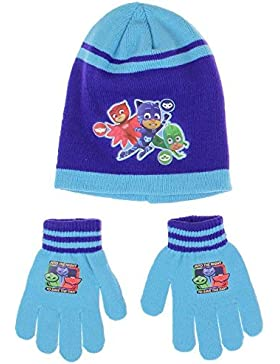PJ Masks gorro con guante conjunto pyjamasque