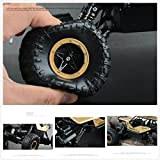 Enlarge toy image: SZJJX RC Cars Off-Road Rock Vehicle Climber Truck 2.4Ghz 4WD High Speed 1:14 Radio Remote Control Racing Cars Electric Fast Race Buggy Hobby Car (Black)