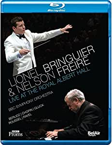 Lionel Bringuier & Nelson Freire Live at the Royal Albert Hall (BBC Symphony Orchestra) [Blu-ray] [2013] [Region Free]