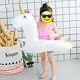 Unicorno enorme, giocattoli galleggianti, nuoto, piscina Supporti galleggianti, piscina piscina, piscine letto galleggiante gonfiabile, giocattolo gonfiabile Con valvole veloci che giocano, yongquan, kayak, piscina, giganti, giocattoli gonfiabili per adulti e bambini (Bambino)