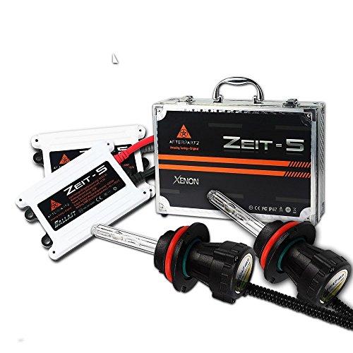 Afterpartz HID Xenon Lampada Faro Alto/Basso Bi xeno faro lampadina nachruestsatz Set 6000K AC 55W (Kit Xenon Bi)