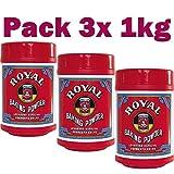 Levadura Royal en polvo - Pack de 3 x 1KG Total de 3000gr de Levadura - ENVIO 24/48h