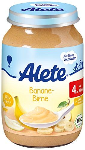 Alete Banane-Birne, 6er Pack (6 x 190 g)