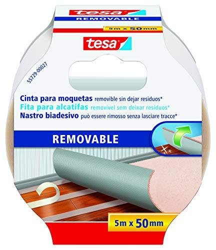 Tesa 55729 Suelos, Adhesiva, diseñada no Dejar Rastro