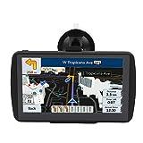 Aonerex Navigationssystem für SAT/Navi, 17,8 cm (7 Zoll), HD-Touchscreen, Sprachübertragung, Auto-Navigationsgerät, integrierte 8 GB und 256 MB, UK- und EU-Karten, lebenslange kostenlose Updates