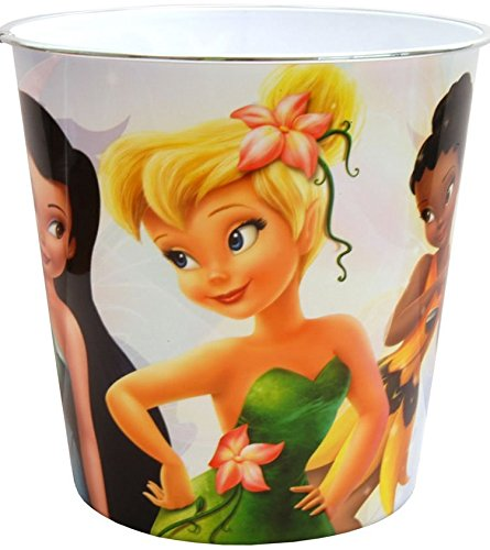 Click for larger image of Vogue Disney Fairies Plastic Bin