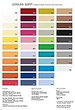 Fleuresse 9100-941 Taie d'oreiller zippée 100% satin de coton mako Noir 40 x 40 cm
