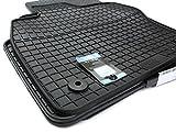 Gummimatten VW Passat VIII 3G B8 Fussmatten Gummi Original Qualität Alltrack 3G Auto Allwetter 4-teilig schwarz
