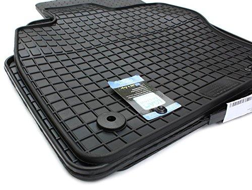 Preisvergleich Produktbild Gummimatten VW Passat VIII 3G B8 Fussmatten Gummi Original Qualität Alltrack 3G Auto Allwetter 4-teilig schwarz
