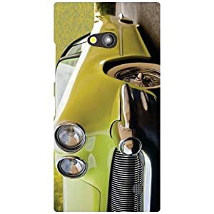 Nokia Lumia 730 Phone Cover - Headlights Matte Finish Phone Cover