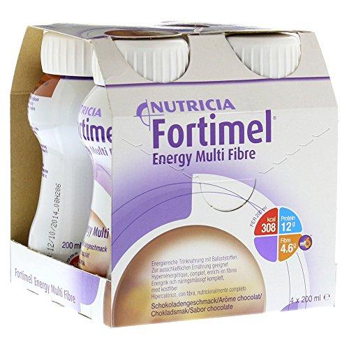 Fortimel Energy Multi Fibre cioccolato Gusto, 8x 4x 200ml