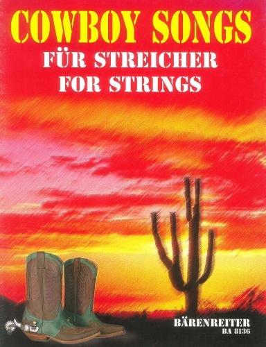 Cowboy Songs pour quatuor à cordes --- Quatuor à cordes (Conducteur et parties)