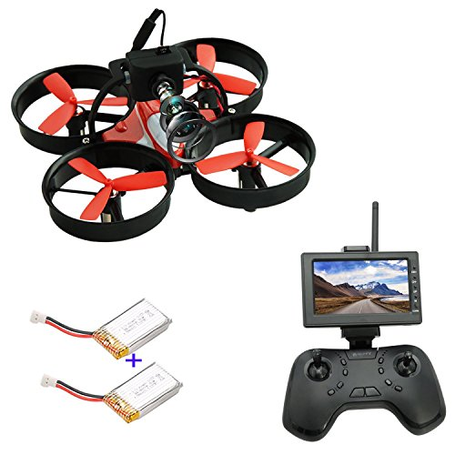 DLFPV 5.8Ghz RC Drohne mit Lay barrens Kamera 4.3Inch LCD Bleed FPV Quadcopter - Uninterested In for Beginners