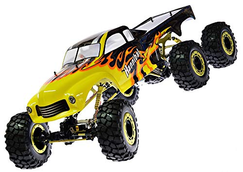 RC Auto kaufen Monstertruck Bild: RC Monstertruck Crawler 6 x 6 Climber Rock Fighter Hannibal XXL 104 cm 1:5 HSP 2,4 GHz RTR*