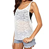 #2: Sunward Women's Vest Top Sleeveless Shirt Blouse Casual Tank Tops T-Shirt