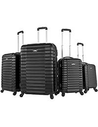 Vojagor® - Juego de 4 maletas de viaje (diferentes colores a elegir)