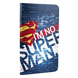 MOONCASE Huawei MediaPad T1/Honor T1 7.0 Tablet PC Cover, Custodie Morbide TPU con Supporto Protettive [Colorful Painting] Slim Fit Flip Case per Huawei MediaPad T1 7.0' Pattern-5