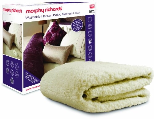 Price comparison product image Morphy Richards 75288 Fleece Washable Heated Mattress Cover Dual Controls, King