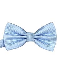 Cdet Pajaritas íneas finas de jacquard de seda de poliéster corbata de moño lazos de mariposa