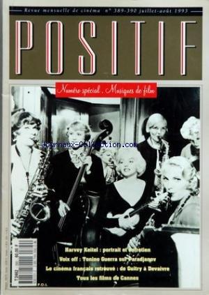 POSITIF du 01/07/1993 - SPECIAL MUSIQUE ...