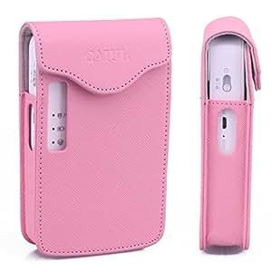 [LG PD251 Pocket Photo Housse imprimante]- CAIUL PD251 cuir synthétique protection exclusive pour LG PD251 prime saison 3 (suivi des photos à pochettes de PD239)-Rose