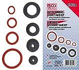 BGS 8059   Dichtring-Sortiment   Gummi und Fiberglas   141-tlg.