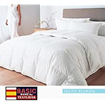 TEXTURAS HOME - Relleno Nórdico Fibra Hueca CAMA 90 Tacto PLUMÓN 150x220 cms.