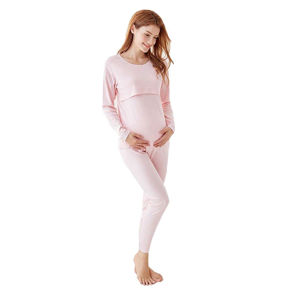 2286e6182 ▷ Pijama de Maternidad Manga Larga