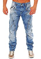 Cipo & Baxx Herren Jeans / Straight Fit Jeans Gorica