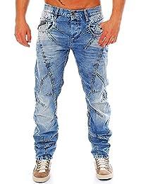 Cipo & Baxx - Jeans - Homme bleu bleu W34 -  bleu - W34/L34
