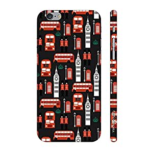 Enthopia Designer Hardshell Case London Calling 2 Back Cover for Apple Iphone 6 Plus