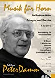 Adagio E Rondo F-dur (1811). Lavorazione per blaeser Ensemble (Score e Voci)