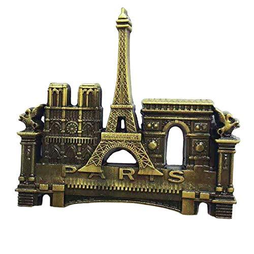 2 stücke Aufkleber 3D Metall Kühlschrank Aufkleber Innovative Metall 3D Kühlschrankmagnet Kühlschrank Aufkleber Kühlschrank Lieferanten Notre Dame Muster