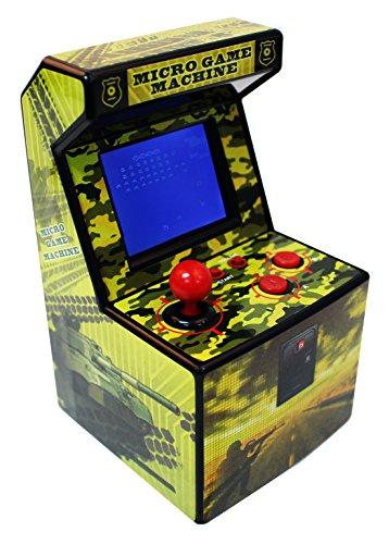 Preisvergleich Produktbild Snappi Mini Arcade Game Machine Toy Errichtet in den Spielen [ 240 Video Games] - series IX (Gelb(Yellow))