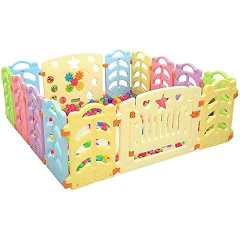 Goodid parque de juego para niños 14 piezas con puerta