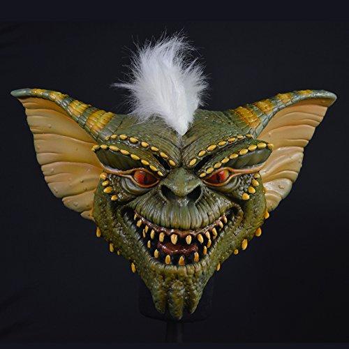 Unbekannt Générique mahal793-Maske Latex Erwachsene Stripe-Gremlins-kleine Monster-Einheitsgröße