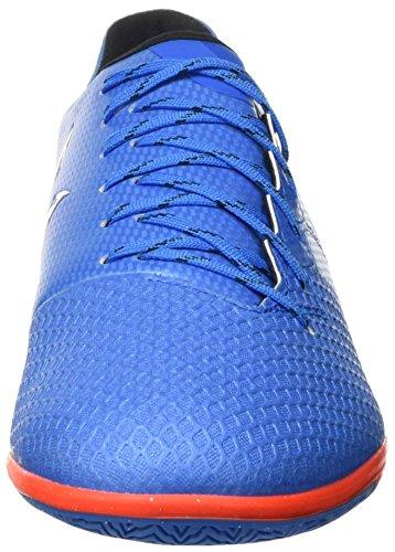 adidas Herren Messi 16.3 in Fußball-Trainingsschuhe Blau (shock Blue /matte Silver/core Black)