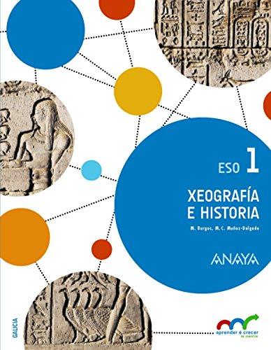 Xeografía e Historia 1. (Aprender é crecer en conexión) - 9788467851830 por Manuel Burgos Alonso