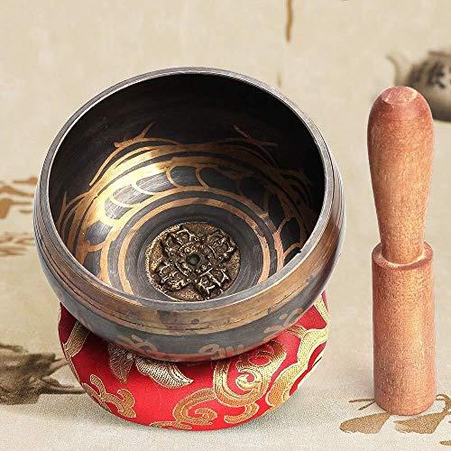 Juego de cuencos tibetanos para meditación