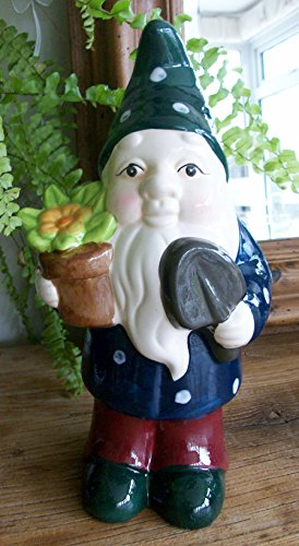 Garden-Gnome-Ornament-in-either-Red-Blue-or-Green-Hat